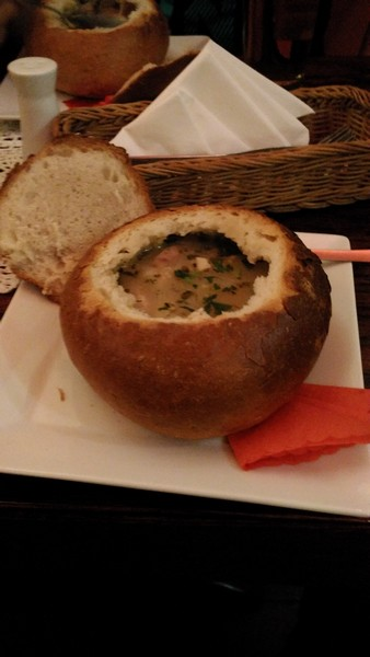 Typisch Poolse zurek soep