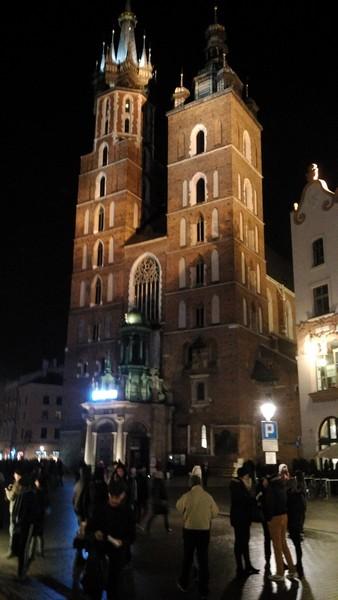 Toren grote markt Krakau