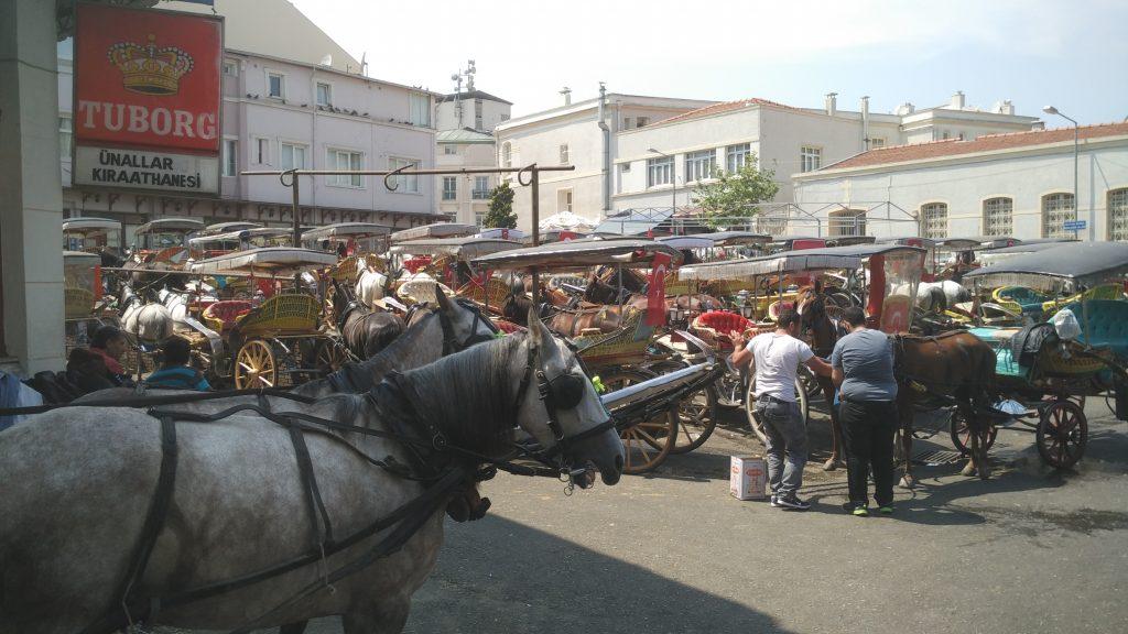 Paard en wagen Büyükada