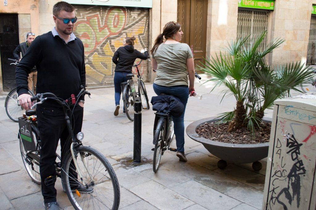 Fiets huren in Barcelona