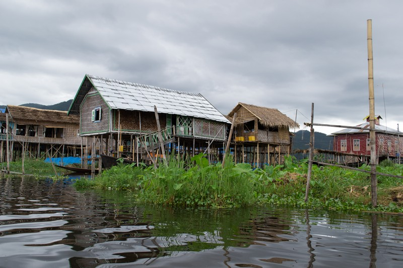 Inle meer dorp