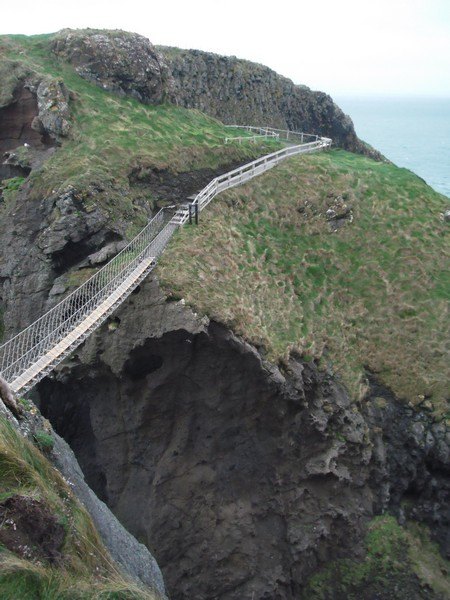 Rope Bridge Noord-Ierland