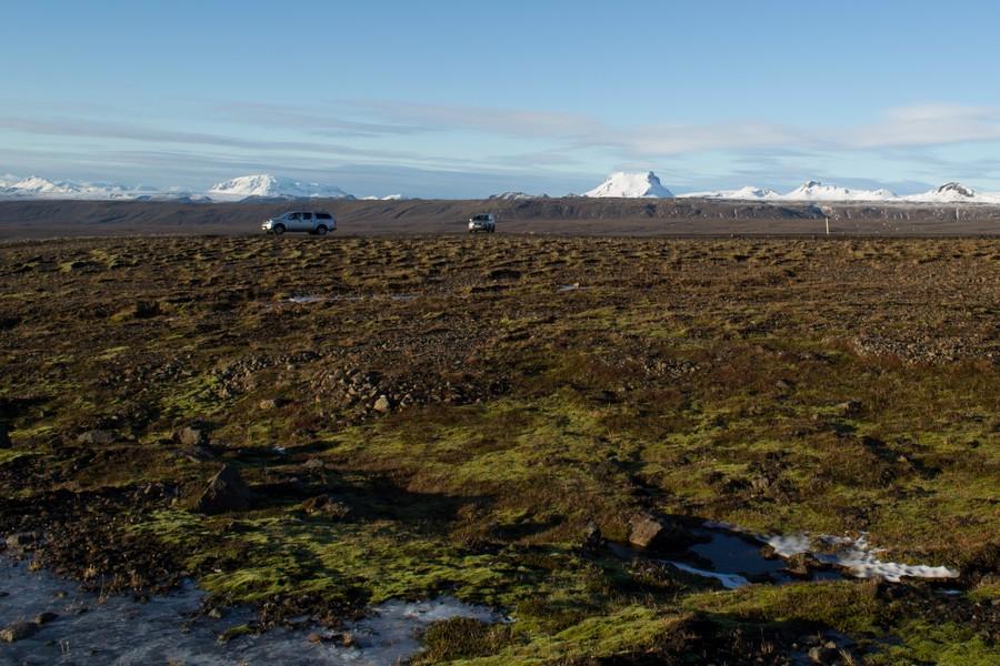 Onverharde wegen IJsland