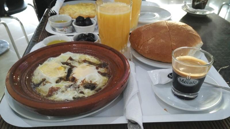 Ontbijt Café Roxe Marrakech