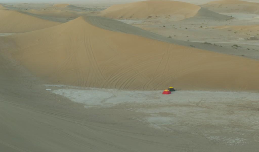 Zandduinen in de Iraanse woestijn