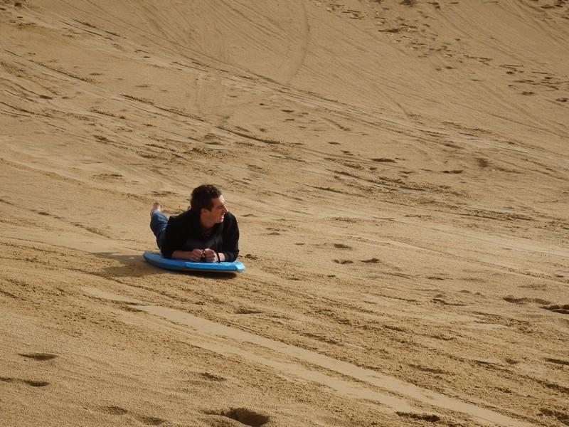 Zandboarden Cape Reinga