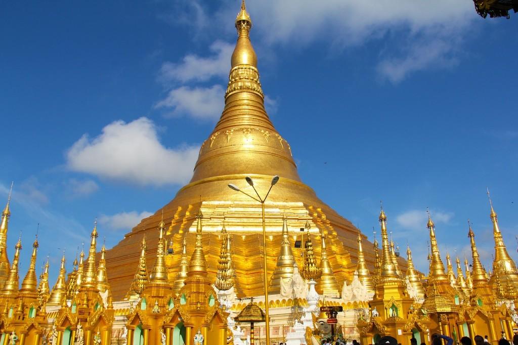 Gouden Tempel Myanmar