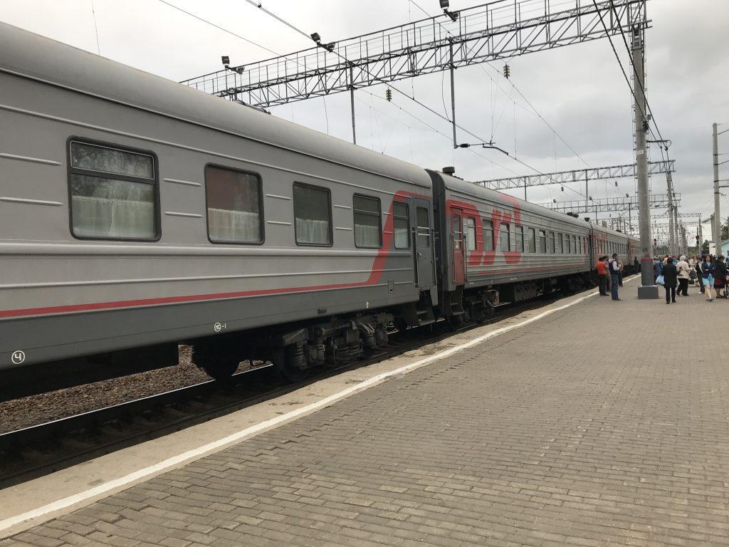 Lokale trein Rusland